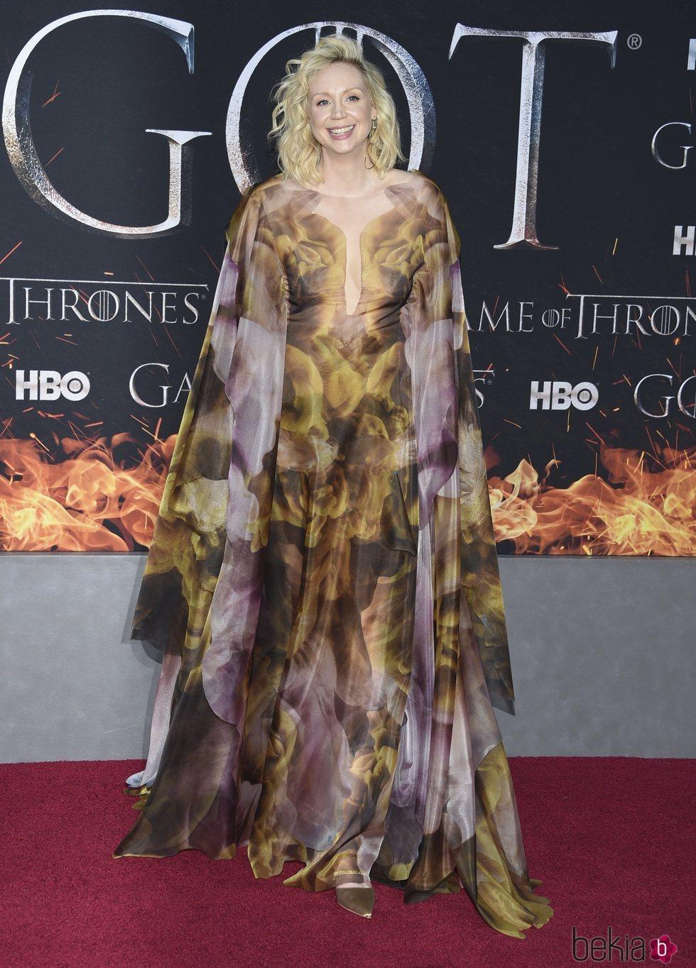 Gwendoline Christie en la premiere de la 8ª temporada de 'Juego de Tronos'