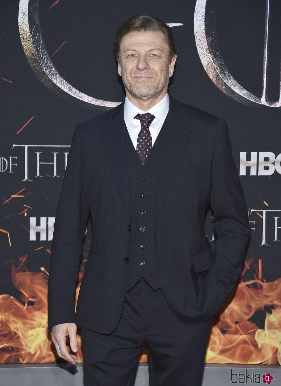 Sean Bean en la premiere de la octava temporada de 'Juego de tronos'