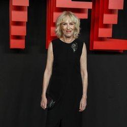 Susi Sánchez en la presentación de la sede de Netflix en Europa