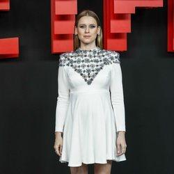Manuela Vellés en la presentación de la sede de Netflix en Europa