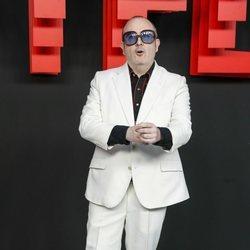Carlos Areces en la presentación de la sede de Netflix en Europa