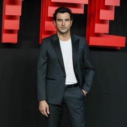 Antonio Velázquez en la presentación de la sede de Netflix en Europa