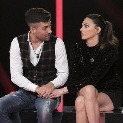 Alejandro Albalá e Irene Rosales antes de la expulsión en la gala 14 de 'GH DÚO'