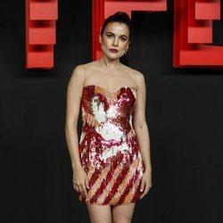 Adriana Ugarte en la presentación de la sede de Netflix en Europa