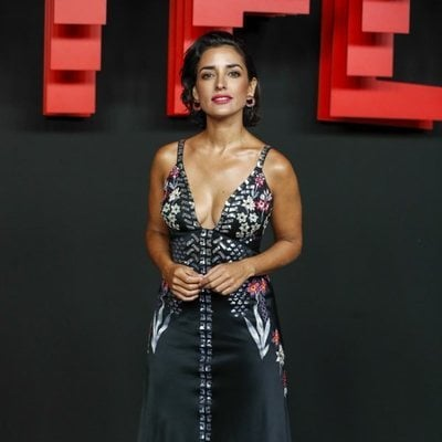 Inma Cuesta en la presentación de la sede de Netflix en Europa