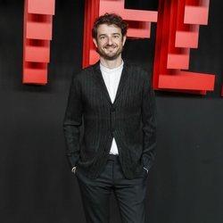 Gorka Otxoa en la presentación de la sede de Netflix en Europa