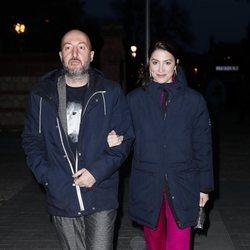 Diego Postigo y Bárbara Lennie en la presentación de la sede de Netflix en Europa