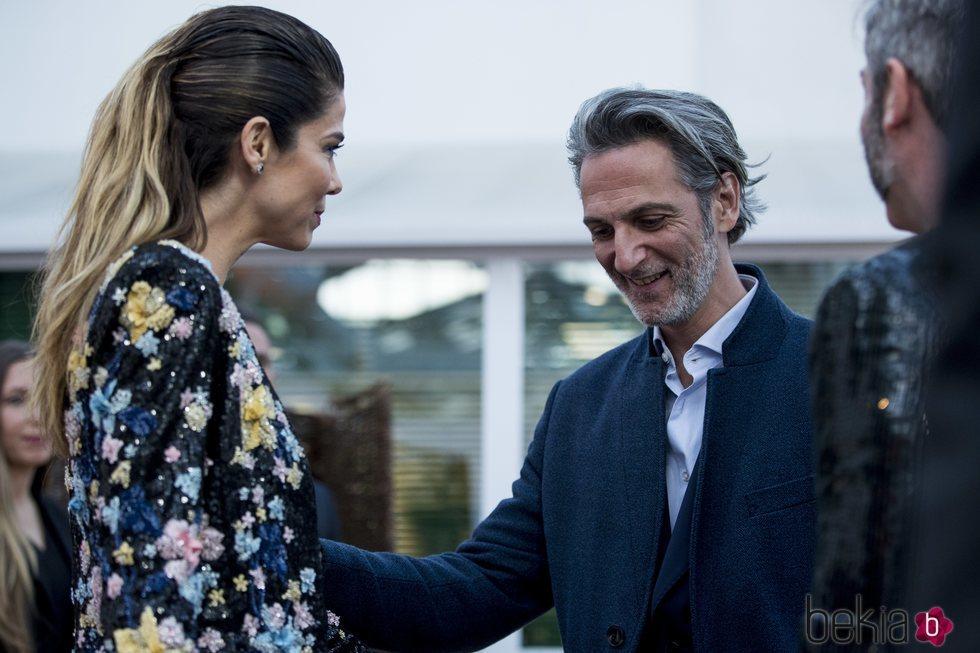 Juana Acosta y Ernesto Alterio, juntos en la presentación de la sede de Netflix en Europa