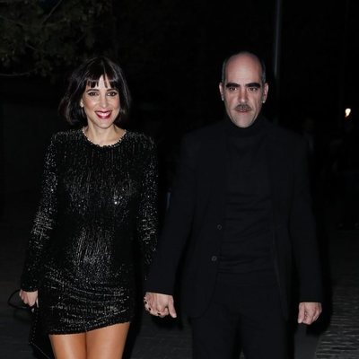 Luis Tosar y María Luisa Mayol en la presentación de la sede de Netflix en Europa