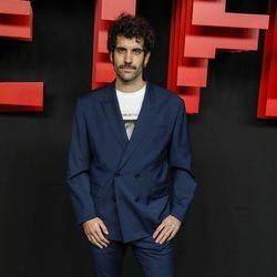 Tamar Novas en la presentación de la sede de Netflix en Europa