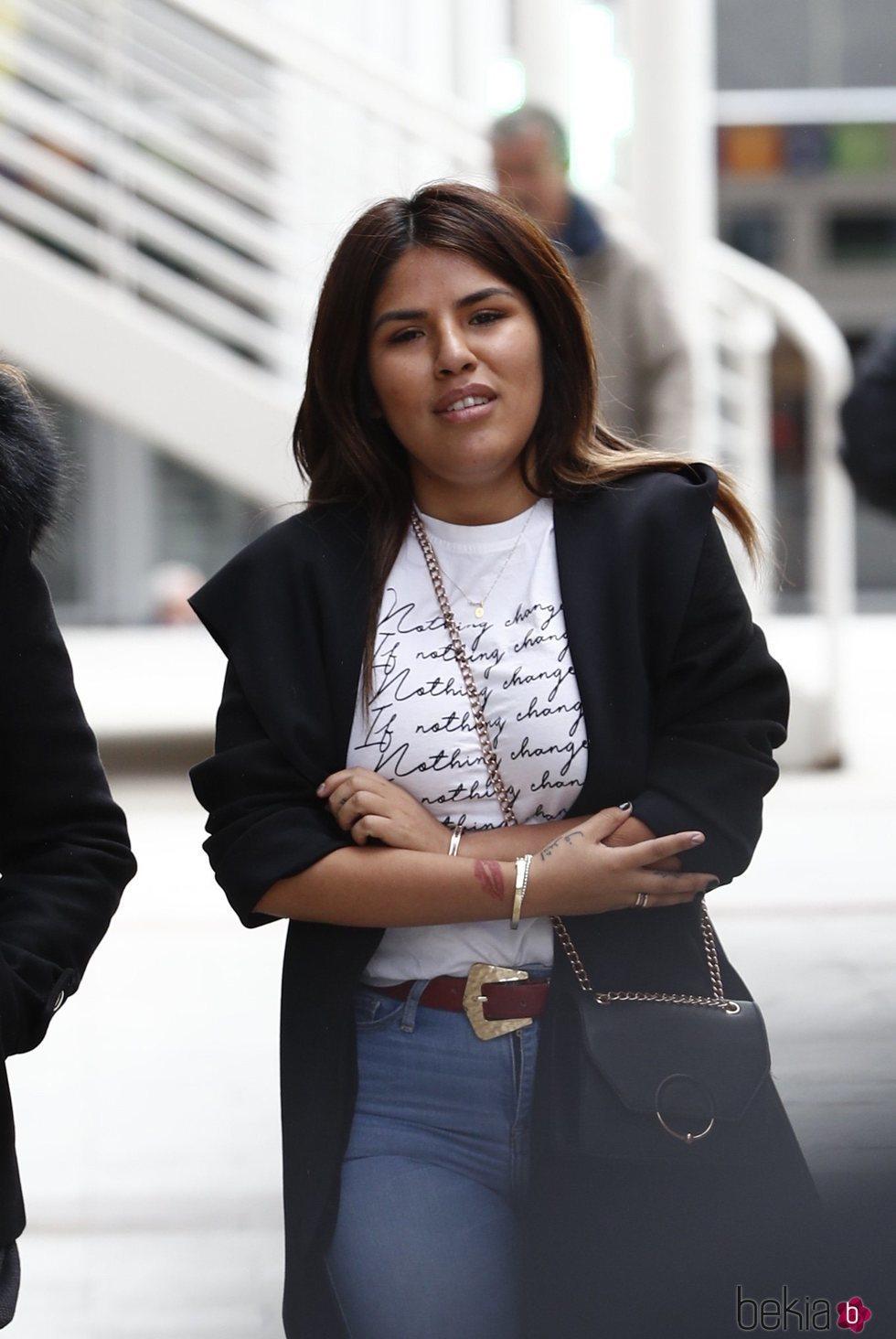 Chabelita Pantoja en los Juzgados de Alcobendas para su juicio contra Paz Guerra