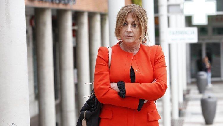 Paz Guerra en los Juzgados de Alcobendas para su juicio con Chabelita Pantoja