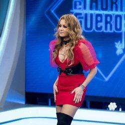 Paulina Rubio en su aparición en 'El Hormiguero'