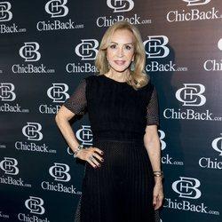 Carmen Lomana en la presentación de lencería Chick Back