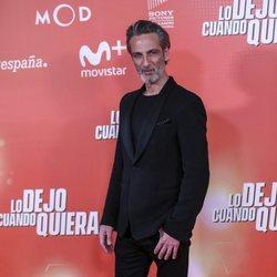 Ernesto Alteiro en la premiere de 'Lo dejo cuando quiera'