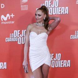 Cristina Castaño en la premiere de 'Lo dejo cuando quiera'