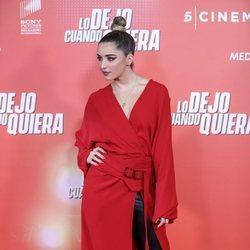 Lola Indigo en la premiere de 'Lo dejo cuando quiera'