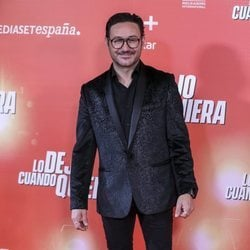 Carlos Santos en la premiere de 'Lo dejo cuando quiera'
