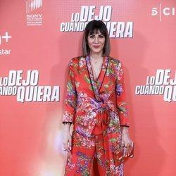 Cecilia Gessa en la premiere de 'Lo dejo cuando quiera'