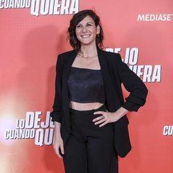 Malena Alterio en la premiere de 'Lo dejo cuando quiera'