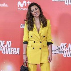 Sandra Cervera en la premiere de 'Lo dejo cuando quiera'