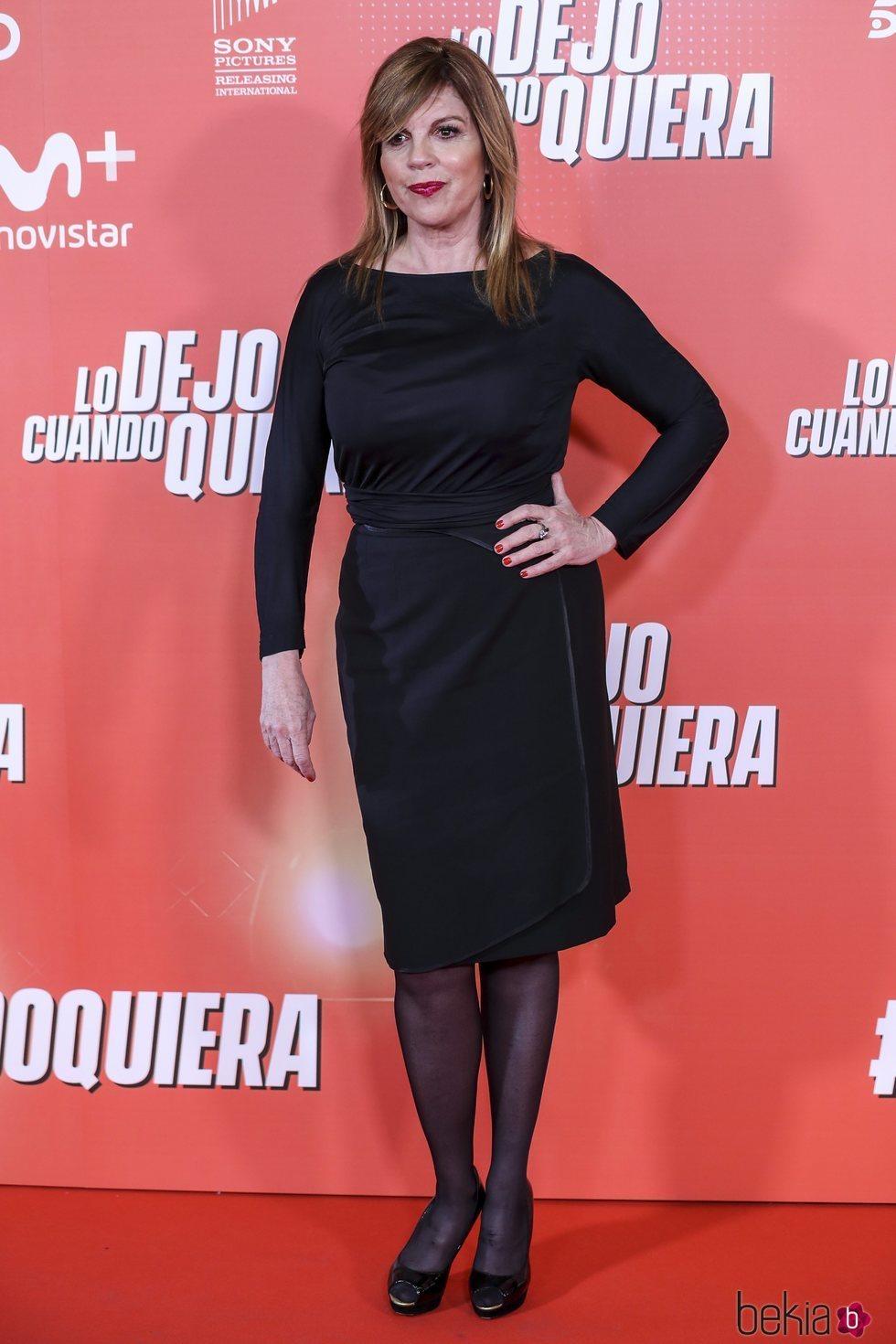 Belinda Washington en la premiere de 'Lo dejo cuando quiera'