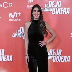 Lidia Torrent en la premiere de 'Lo dejo cuando quiera'