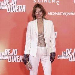Mónica Martín Luque en la premiere de 'Lo dejo cuando quiera'
