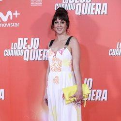Eva Urgate en la premiere de 'Lo dejo cuando quiera'