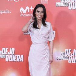 Alba Lago en la premiere de 'Lo dejo cuando quiera'