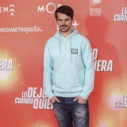 Gonzalo Ramos en la premiere de 'Lo dejo cuando quiera'