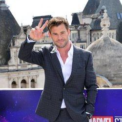 Chris Hemsworth en la premiere de 'Los Vengadores: Endgame'