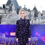 Scarlett Johansson en el exterior de la premiere de 'Los Vengadores: Endgame'