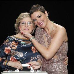 María Jesús Ruiz y su madre Juani en la gala final de 'GH DÚO'