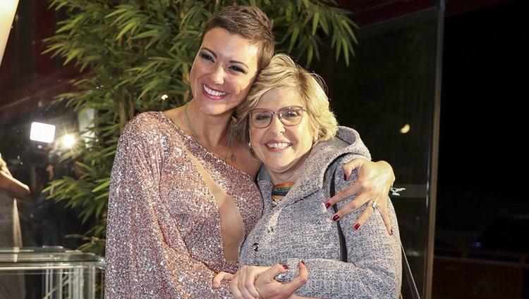 María Jesús Ruiz con su madre Juani tras el final de 'GH DÚO'