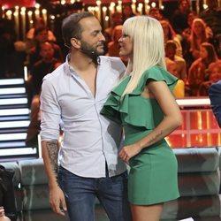 Ylenia y Antonio Tejado muy cómplices en el debate final de 'GH DÚO'
