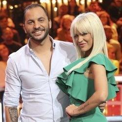 Ylenia y Antonio Tejado en el debate final de 'GH DÚO'