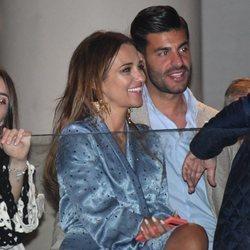 Paula Echevarría y Miguel Torres en la Semana Santa de Málaga 2019