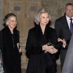 La Reina Sofía e Irene de Grecia en el concierto a beneficio de Proyecto Hombre en Palma