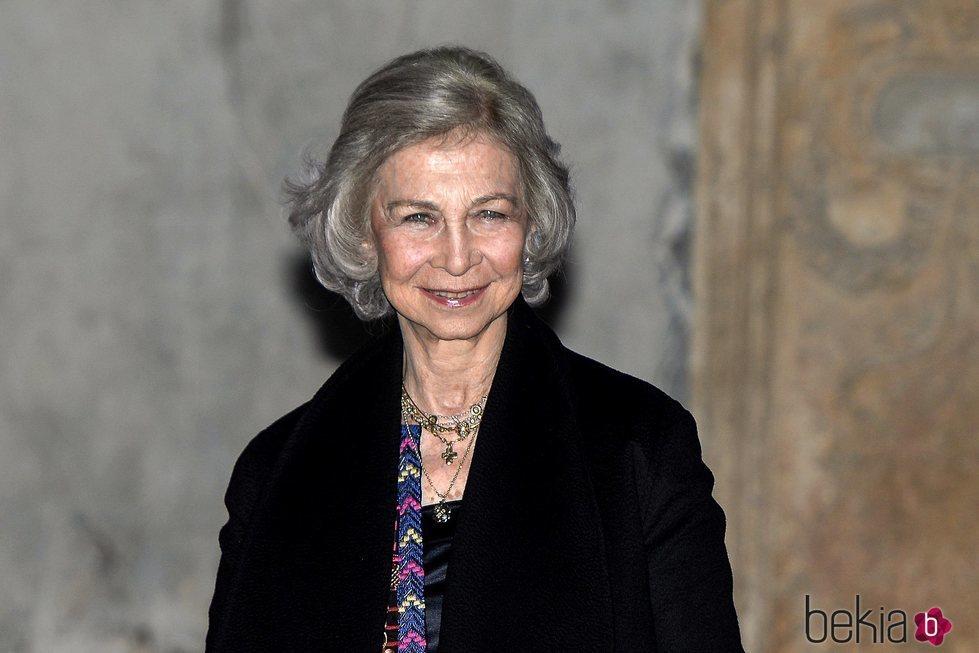 La Reina Sofía, muy feliz en el concierto a beneficio de Proyecto Hombre en Palma