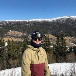 Sverre Magnus de Noruega durante sus vacaciones de Semana Santa 2019