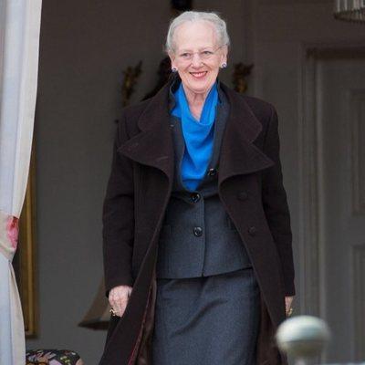 Margarita de Dinamarca en su 79 cumpleaños