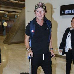 Colate en el aeropuerto rumbo a 'Supervivientes 2019'