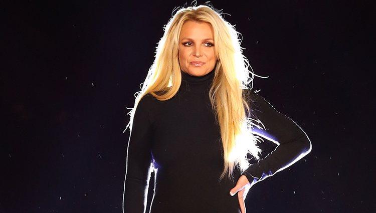 Britney Spears anunciando un residency show en Las Vegas