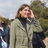 Lourdes Montes en la corrida de toros de su marido Fran Rivera en Zahara de los Atunes