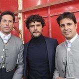 Fran Rivera, Canales Rivera y Miguel Abellán en Zahara de los Atunes