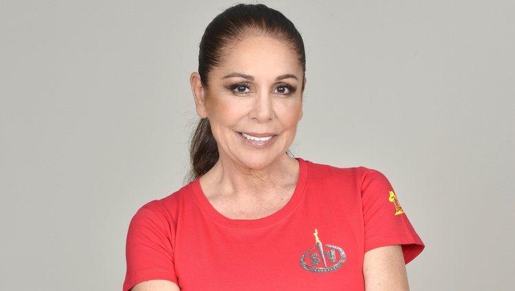 Isabel Pantoja en la foto promocional de 'Supervivientes 2019'