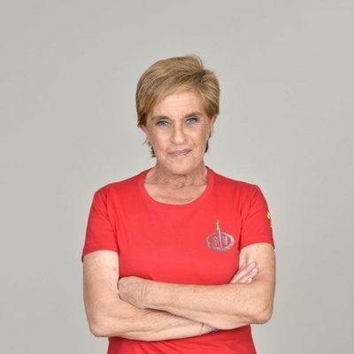 Chelo García Cortés en la foto promocional de 'Supervivientes 2019'