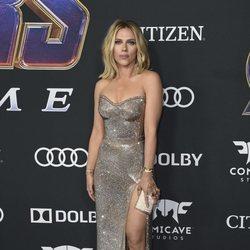 Scarlett Johansson en la premiere de 'Vengadores: Endgame'