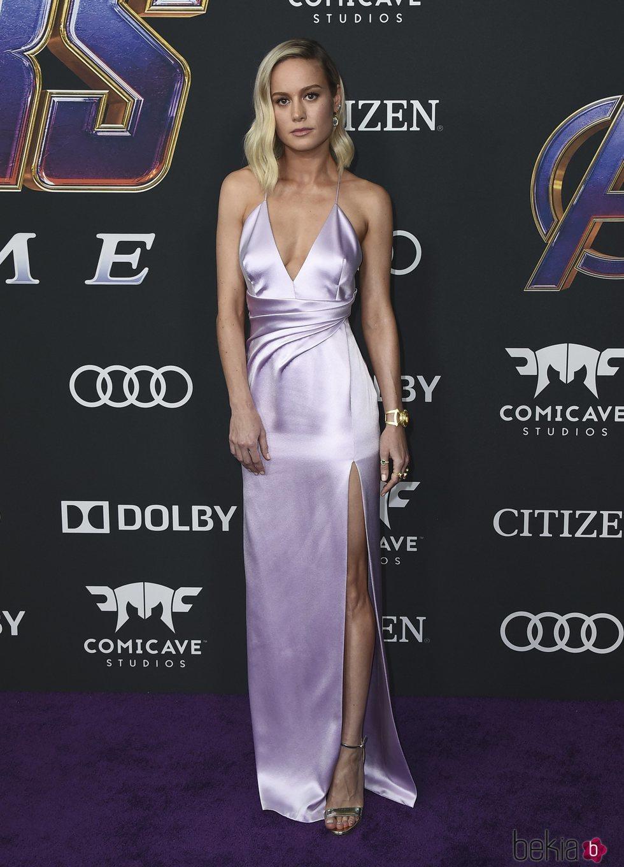 Brie Larson en la premiere de 'Vengadores: Endgame'